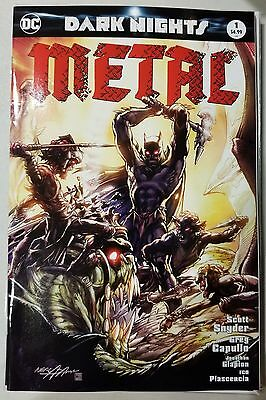 DC Dark Nights Metal #1 Legends Comics and Games Neal Adams Variant