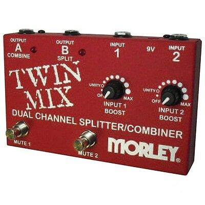 Morley Twin Mix ABY Selector Splitter Combiner effects Pedal