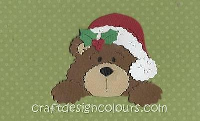 Die Cut - 1 X Christmas Bear (Kit)