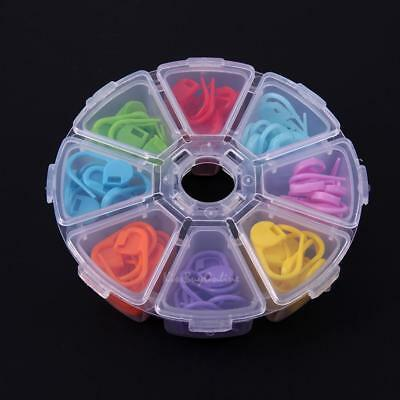 8 Colors 104pcs Knitting Accessories Crochet Locking Stitch Needle Clip Marker