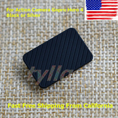New USB Side Cover Repair Part For Action Camera Gopro Hero 4 Black or Silver