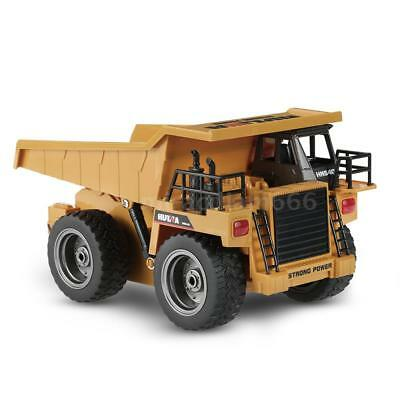 HUI NA TOYS NO.1540 2.4G 6CH Turn left/right Dump Remote Control Truck US STOCK