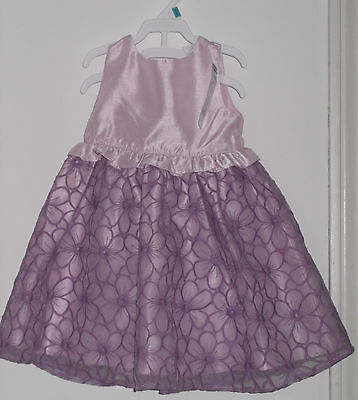 NWT Gymboree Toddler Girl Special Occasion Purple  Dress  Size  18 - 24 Months