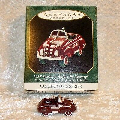 Hallmark 1999 Steelcraft Airflow 1937 (#2 Kiddie Car Luxury Edition)