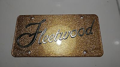 Old Vintage Cadillac Fleetwood Car Automobile Advertising Vanity License Plate