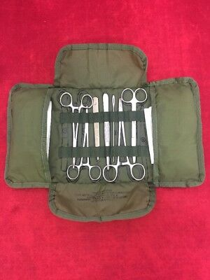 USGI Minor Surgery Army Surgical Instrument Set w/ Nylon Case (See Listing)