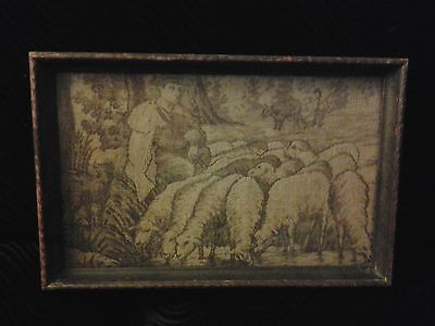 Small  Framed Flemish 16th Century Tapestry