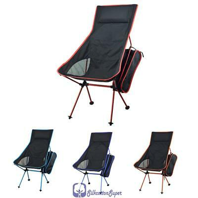 Camping Folding Chair Fishing Hiking Gardening Portable Seat Stool Lightweight