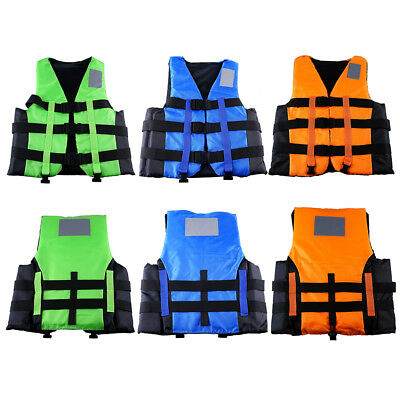 Life Jacket Vest Adult PFD Type III Fully Enclosed Coast Guard Approved SAFE!