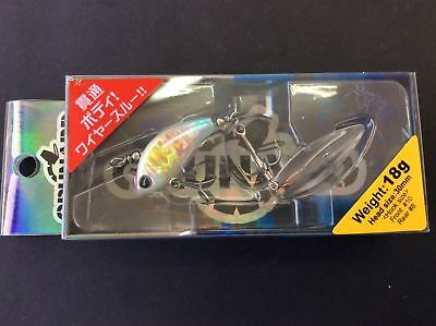 Zetz Grunard Metal Tailspin Bass Fishing Lure Free Postage Within Australia