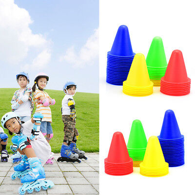 10x  Sports Training Safety Cones Traffic Marker Workout Gym Exercise Run 8CM