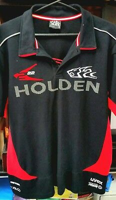 Official Holden Racing Team Polo Shirt - L - Near New Condition !!