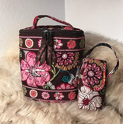 Vera Bradley Lunch Tote And Case - Mod Floral Pink Print