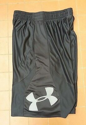 Under Armour Men's Basketball Loose Fit Athletic Shorts Size SM