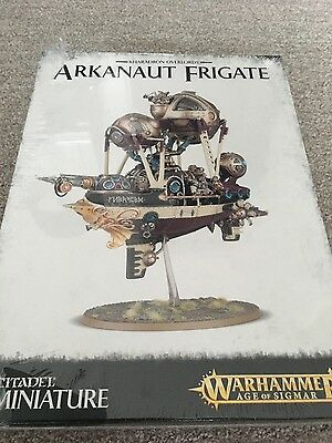 Warhammer Age of Sigmar Kharadron Overlord Arkanaut Frigate