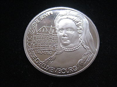 """Mds Luxemburg 5 Ecu 1994 """"marie Therese Duchesse De Luxembourg"""""""
