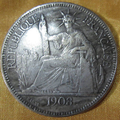 US American Coin Dollar Brass Silver Plated Protector Resist Solid Money