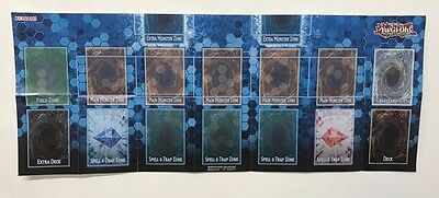 Yu-Gi-Oh! Link Strike Play Mat - Updated Zones!