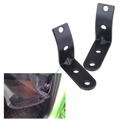 Glove Box Hinge Brackets Repair Kit Alloy For Audi A4 RS4 B6 8E 02-08 Black SS