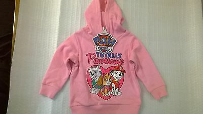 Paw Patrol / Hoodie / Girls / Sizes 2, 3, 4, 5.
