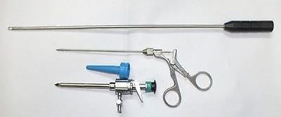 Addler Laparoscopy Knot Pusher, Trocar 10mm , And Port Closar With Cone