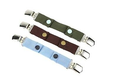 Borje Baby Adjustable Snap Belt With Clip Suitable For Any Pants,One Pack of 3 C
