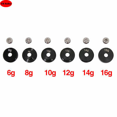 6pcs Golf Weights w/Screw For Ping G30 Driver Head Club 6g 8g 10g 12g 14g 16g US