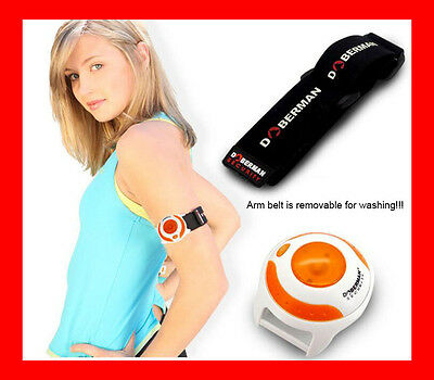 LED JOGGERS PERSONAL ALARM WITH ARM & WRIST BAND Pepper Spray Alternative Safety