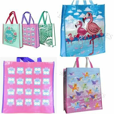 One Large Reusable Eco Shopping Bag Supermarket Beach Tote Bags Holidays