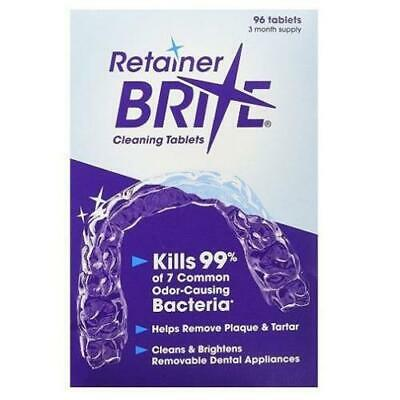 Retainer Brite 96 Tablets x 2 Pack