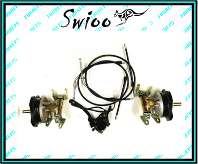 4 stud front drum twin brake throttle kit for Quad Gokart buggy Project dmk4xlc