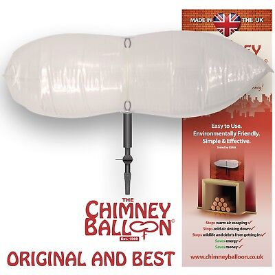Chimney Balloon Energy Saving Chimney Draught Excluder
