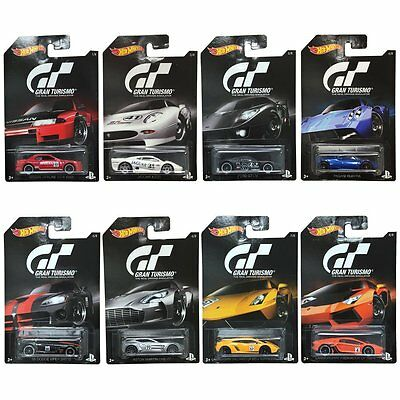 Hot Wheels Gran Turismo Djl12 Collection Diecast Cars Scale 1:64 Full Set
