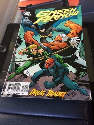Green Arrow Comic Book DC Comics #71 April 2007