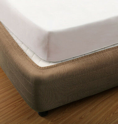 Box Spring Cover (4 Colours Available) (5 Sizes) (SNUG FIT)