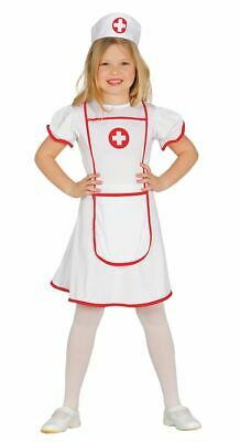 Girls Childrens Nurse Uniform Fancy Dress Costume People Who Help Us Book Day