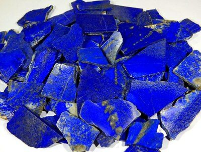 11 lbs UNTREATED BLUE LAPIS LAZULI ROCK ROUGH SLAB,TILE AFGHAN NATURAL GEMSTONES