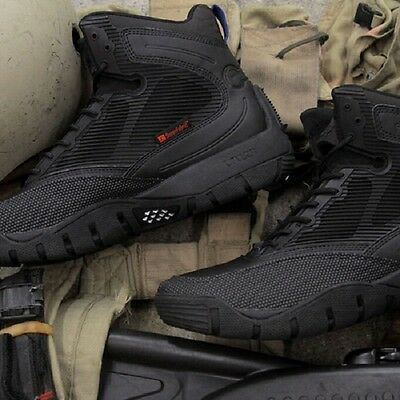 """Lalo 165ML001BKO Shadow Amphibian 5"""" Men's Black Ops Tactical Special Force Boot"""