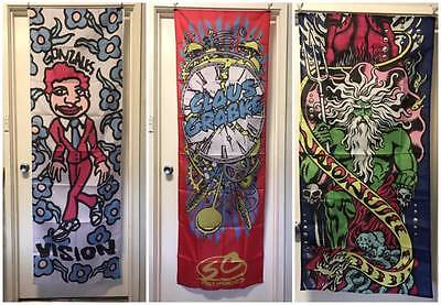 SKATEBOARD BANNERS Vision Mark Gonz Gonzales NEW & UNUSED