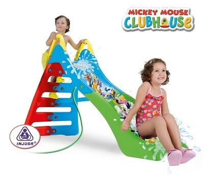 Mickey Mouse Clubhouse Water Slide - Blue Kids Water Slide – Injusa