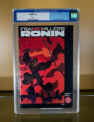 1983 CGC 9.8 DC Frank Miller Ronin #1 Book One with White Pages