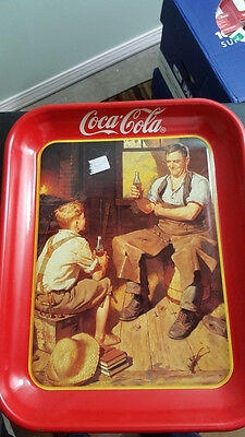 3 Coca Cola Trays