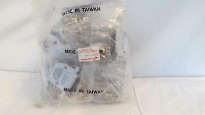 Lot of 25 AIM 40-9725HS Metalized Plastic Hoods 25 Pin D-Sub Sockets or Plugs