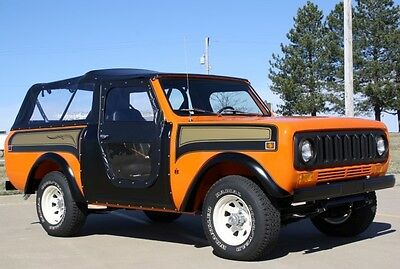 1978 International Harvester Scout SSII 1978 INTERNATIONAL SCOUT SSII