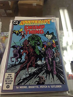 Swamp Thing 50 1st full appearance Justice League Dark NM Alan Moore