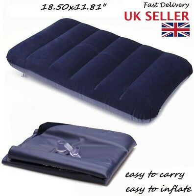 Travel Camping Pillow - Inflatable Head Rest Cushion - hot sale
