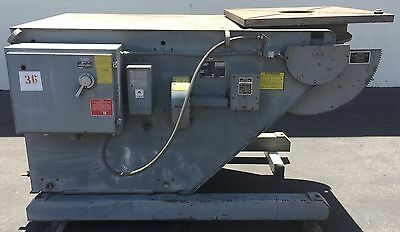 "Aronson Welding Positioner Ab30B 36"" X 36"" Table Max.load 60750 Lbs In Tilt"