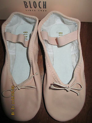 NEW Girls/Ladies Bloch Ballet Slippers S0205G & L - Full Sole Leather New Stock