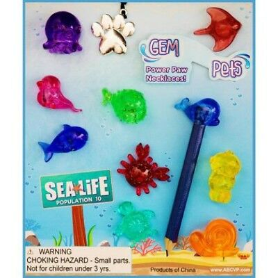 """1"""" Gem PETS #4 Pencil Toppers, VENDING, Party - 250 COUNT + DISPLAY"""