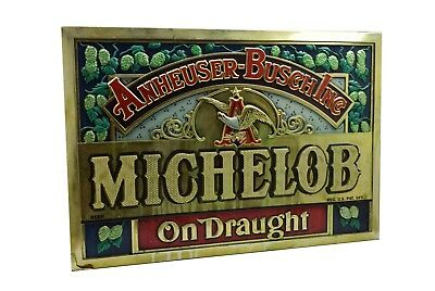 "Vintage Anheuser Busch Inc Michelob on Draught 30"" x 20.5"""